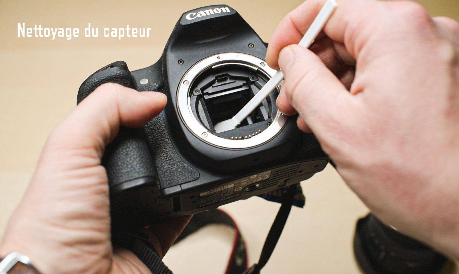 Nettoyage capteur appareil photo numérique Maisons-Laffitte Yvelines 78 Christophe Lefebvre Photographe texte